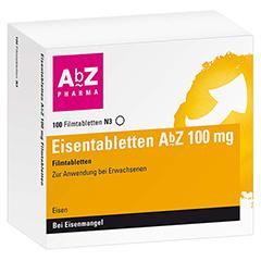 Eisentabletten AbZ 100mg 100 Stück N3