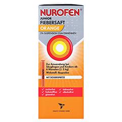 Nurofen Junior Fiebersaft Orange 2% 100 Milliliter N1 - Rechte Seite