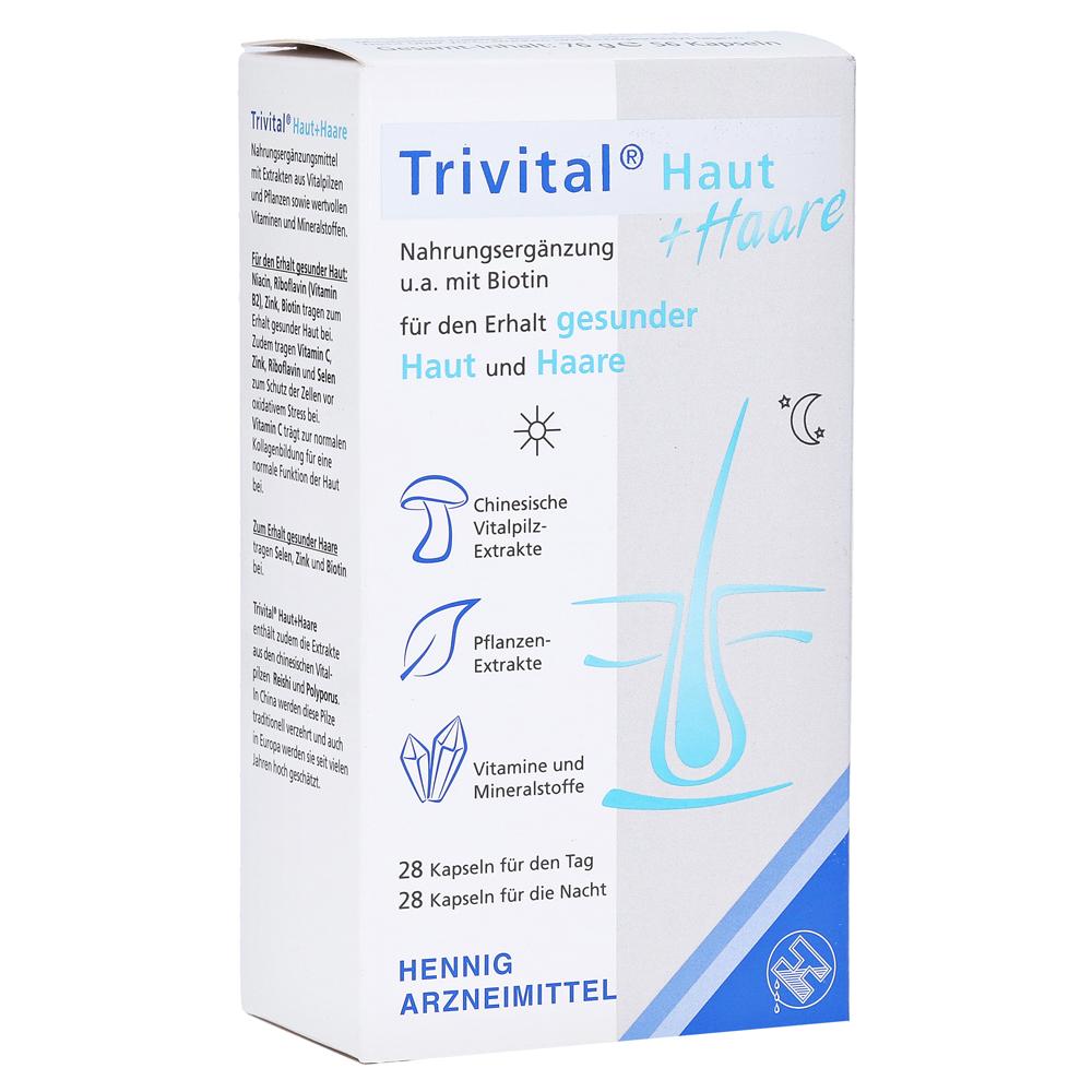 TRIVITAL Haut+Haare Kapseln 56 Stück online bestellen