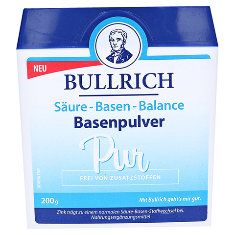Bullrich Säure Basen Balance Basenpulver 200 Gramm