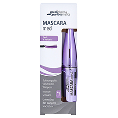 Mascara med Curl & Volume 7 Milliliter - Vorderseite