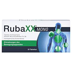 RUBAXX Mono Tabletten 20 Stück - Vorderseite