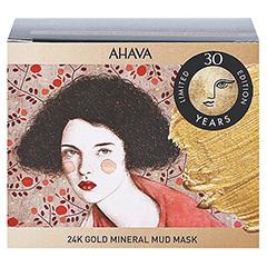 AHAVA 24K Gold Mud Mask 50 Milliliter - Rückseite