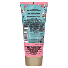 AHAVA Mineral Hand Cream limited Edition 100 Milliliter - Rückseite