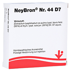 NEYBRON Nr.44 D 7 Ampullen 5x2 Milliliter N1