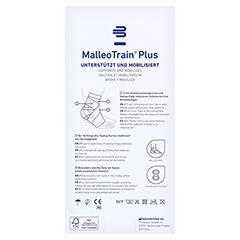 MALLEOTRAIN Plus Sprunggelenkb.links Gr.2 titan 1 Stück - Rückseite