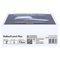 MALLEOTRAIN Plus Sprunggelenkb.links Gr.2 titan 1 Stück - Unterseite