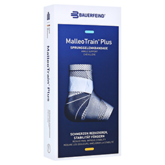 MALLEOTRAIN Plus Sprunggelenkb.links Gr.2 titan 1 Stück