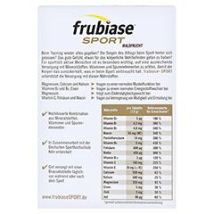 Frubiase SPORT Waldfrucht Brausetabletten 20 Stück - Rückseite