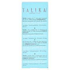 Talika Lipocils Eyebrow 10 Milliliter - Rückseite