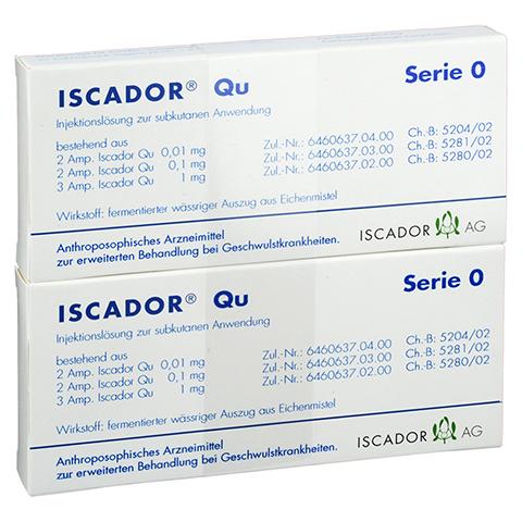 ISCADOR Qu Serie 0 Injektionslösung 14x1 Milliliter N2