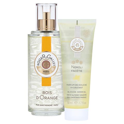 R&G Bois d'Orange Duft Sprühflasche + gratis R&G Gel Douche Neroli 50 ml 100 Milliliter