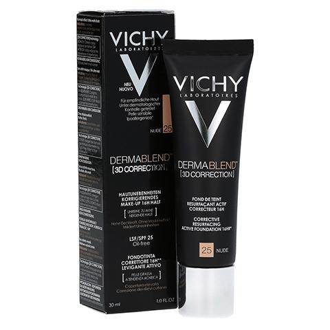 Vichy Dermablend 3D Correction Make-up Fluid Nr. 25 Nude 30 Milliliter