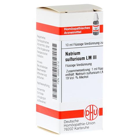 LM NATRIUM sulfuricum III Dilution 10 Milliliter N1