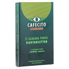 GUARANA CAFECITO Kautabletten 15 Stück