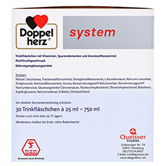 DOPPELHERZ Immun+Aronia system Ampullen 30 Stück - Rechte Seite