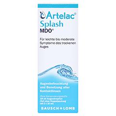 Artelac Splash MDO Augentropfen 2x10 Milliliter - Vorderseite