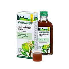 MANNA-FEIGEN-Sirup Schoenenberger 200 Milliliter