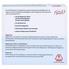 DOPPELHERZ Magnesium 375 Liquid system Trinkamp. 30 Stück - Rückseite