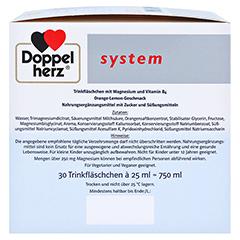 DOPPELHERZ Magnesium 375 Liquid system Trinkamp. 30 Stück - Rechte Seite