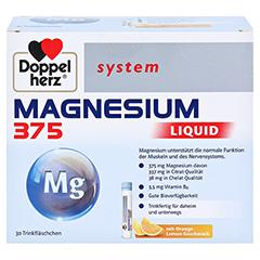 DOPPELHERZ Magnesium 375 Liquid system Trinkamp. 30 Stück - Vorderseite