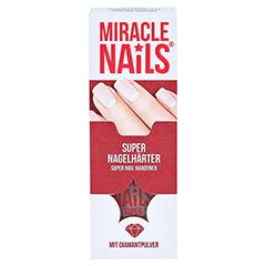 MIRACLE Nails super Nagelhärter 8 Milliliter - Vorderseite