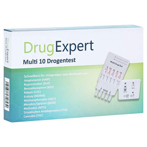 DRUGEXPERT 10 Drogentest:10 Parameter 1 Stück