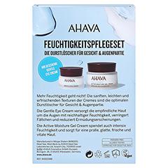 AHAVA Kit Active Moisture+Gentle Eye Cream 65 Milliliter - Rückseite