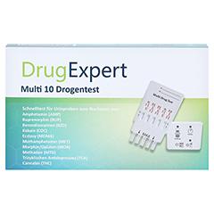 DRUGEXPERT 10 Drogentest:10 Parameter 1 Stück - Vorderseite
