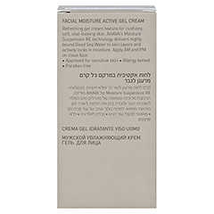 AHAVA Men Moisture Active Gel-Cream 50 Milliliter - Rückseite