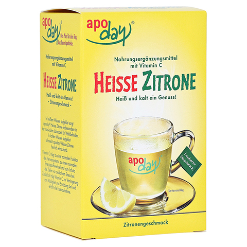 Apoday Heisse Zitrone mit Vitamin C 10x10 Gramm