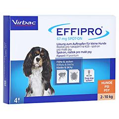 EFFIPRO 67 mg Pip.Lsg.z.Auftropf.f.kl.Hunde 4 Stück