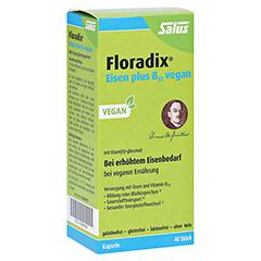 Floradix Eisen plus B12 vegan Kapseln 40 Stück