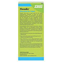 Floradix Eisen plus B12 vegan Kapseln 40 Stück - Rückseite