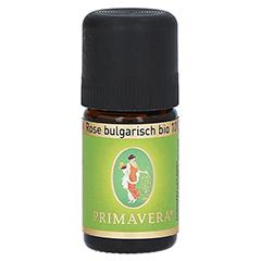 PRIMAVERA Rose bulgarisch Bio 10% ätherisches Öl 5 Milliliter