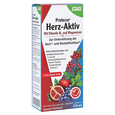 PROTECOR Herz-Aktiv Spezial-Tonikum 250 Milliliter