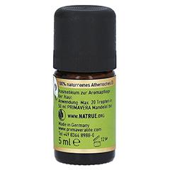 PRIMAVERA Pfefferöl Schwarz kbA ätherisch 5 Milliliter - Rechte Seite