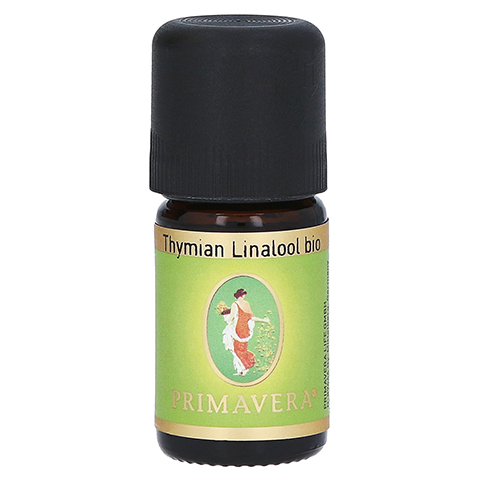 PRIMAVERA Thymian Öl Linalol kbA ätherisch 5 Milliliter