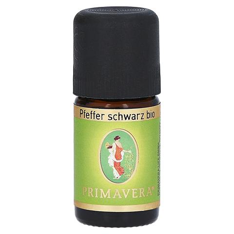 PRIMAVERA Pfefferöl Schwarz kbA ätherisch 5 Milliliter