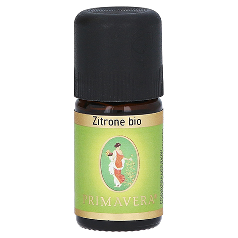 PRIMAVERA Zitrone kbA ätherisches Öl 5 Milliliter