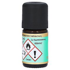 CLEAN AIR Duftmischung ätherisches Öl 5 Milliliter - Rückseite