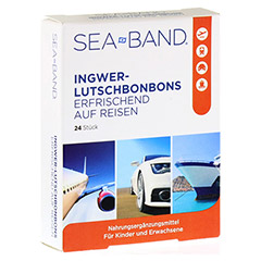 SEA-BAND Ingwer-Lutschbonbons 24 St�ck