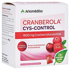 CRANBEROLA Cys Control Pulver 20x5 Gramm