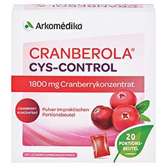 CRANBEROLA Cys Control Pulver 20x5 Gramm - Vorderseite