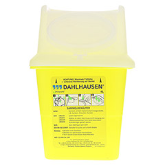 SHARPSAFE Abwurfbehälter 4 l 1 Stück - Vorderseite