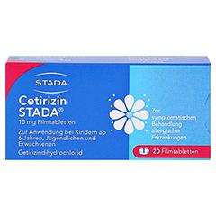Cetirizin STADA 10mg 20 Stück N1 - Vorderseite