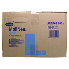 MOLINEA plus D Krankenunterlage 60x90 cm 50 Stück - Linke Seite