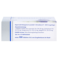 REPHALGIN N Tabletten 100 Stück N2 - Oberseite
