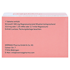 MAGNEROT CLASSIC N Tabletten 200 Stück N3 - Oberseite