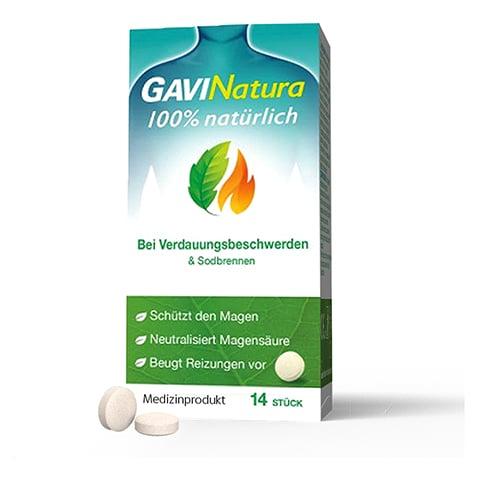 GAVINATURA natürlich bei Verdauungsbeschwerd.Lut. 14 Stück